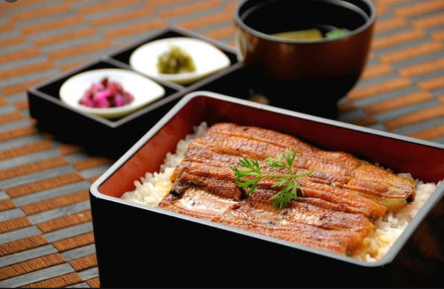Unagi (broiled eel)
