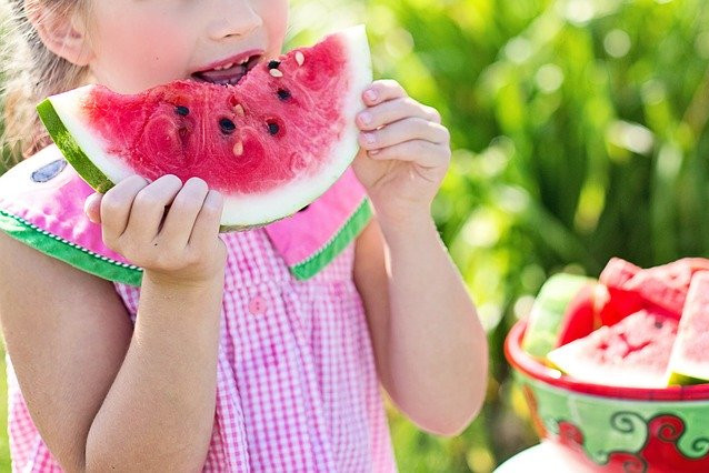 Water melon on hot summer